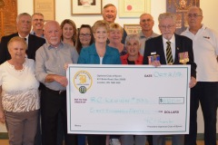 Optimist donation to Branch