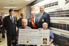 Donation to Parkwood Institute Veteran Care