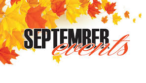 September 2019 Events